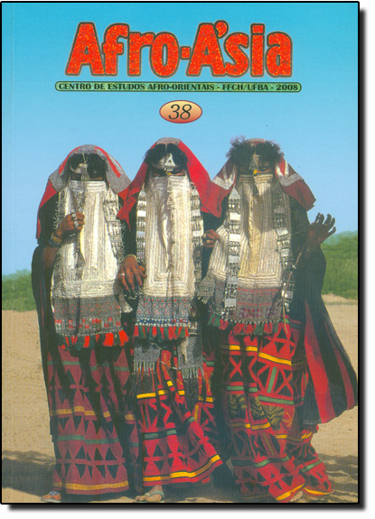 Afro - Asia 38 - Centro de Estudos Afro - Orientais - FFCH - UFBA - 2008, livro de Editora Edufba