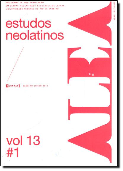 Alea - Estudos Neolatinos - Vol.13 - N.1, livro de Aloísio Leoni Schamid