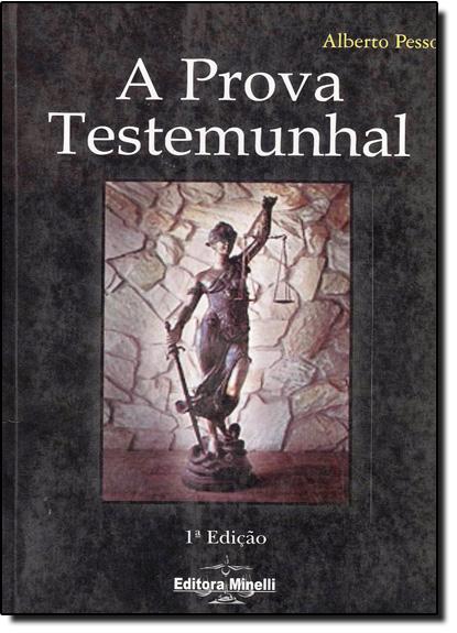 Prova Testemunhal, A, livro de Alberto Pessoa