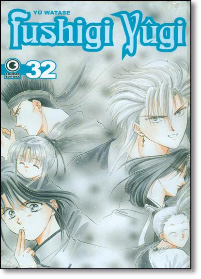 Fushigi Yugi - 32, livro de WATASE, YU
