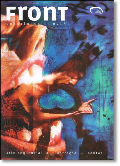 Front 15: Tudo em Volta Sente Medo, livro de Varios Autores
