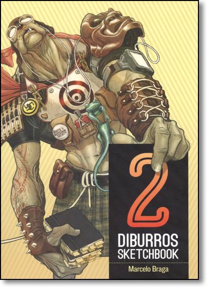 Diburros: Sketchbook - Vol.2, livro de Marcelo Braga