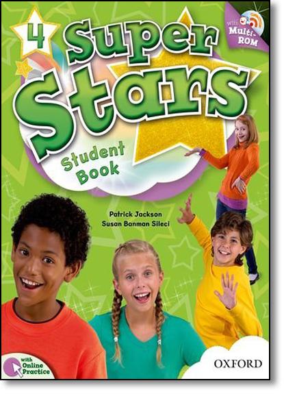 Super Stars 4: Students Books With Multi Rom, livro de Patrick Jackson