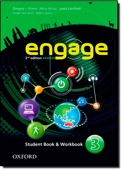 Engage 3: Student Book And Workbook, livro de Gregory J. Manin