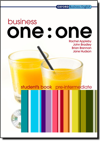 Business One:one: Student s Book - Pre-intermediate - Pack, livro de Rachel Appleby