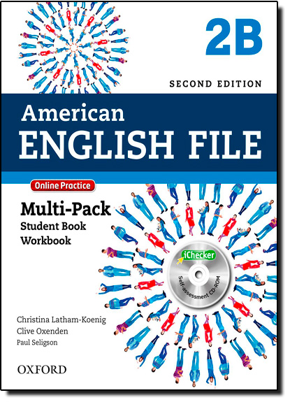American English File - Level 2b - Multipack With Online Practice and Ichecker, livro de Christina Latham-Koenig