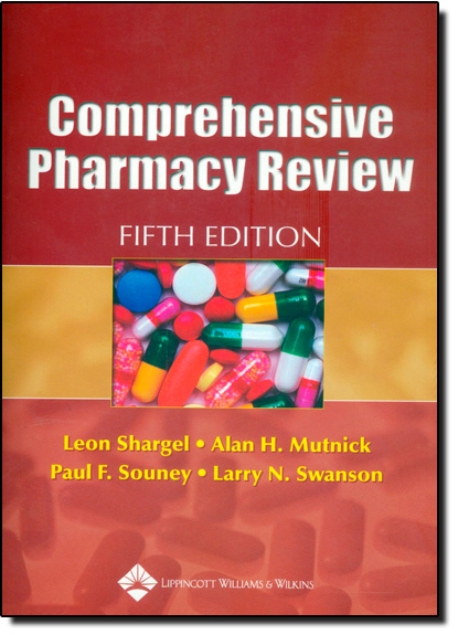 Comprehensive Pharmacy Review, livro de Leon Shargel