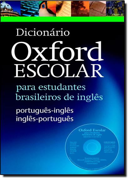Dicionário Oxford Escolar Para Estudantes Brasileiros de Inglês - With Cd - Rom, livro de A. s. Hornby