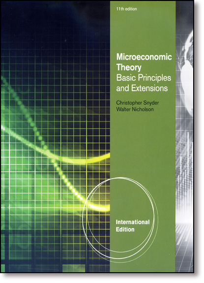 Microeconomic Theory: Basic Principles and Extensions, livro de Christopher Snyder