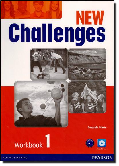 New Challenges 1 - Workbook With Audio Cd, livro de Amanda Maris