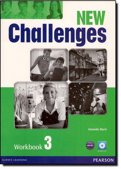 New Challenges 3 - Workbook With Audio Cd, livro de Amanda Maris