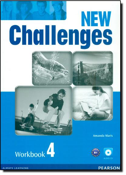 New Challenges: Workbook 4 - With Cd-rom, livro de Amanda Maris
