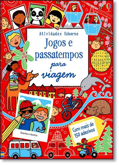 Jogos e Passatempos Para Viagem, livro de Edições Usborne