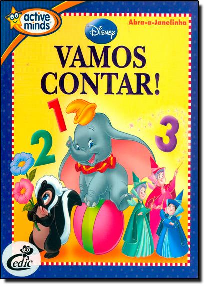 VAMOS CONTAR, livro de Disney