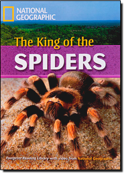 Footprint Reading Library - Level 7  2600 C1 - The King Of The Spiders - American English + Multirom, livro de Cengage Learning