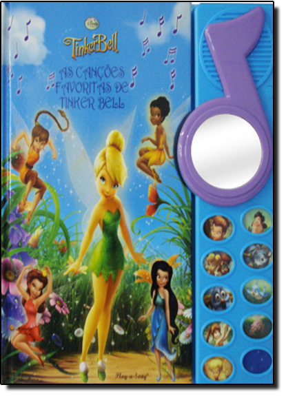 Cancoes Favoritas de Tinker Bell, As, livro de Disney