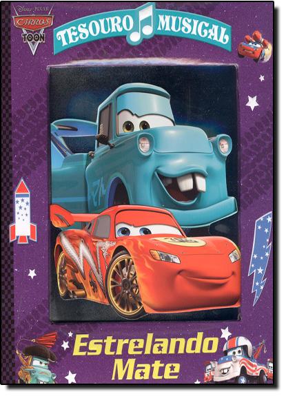 Tesouro Musical: Estrelando Mate, livro de Disney Pixar