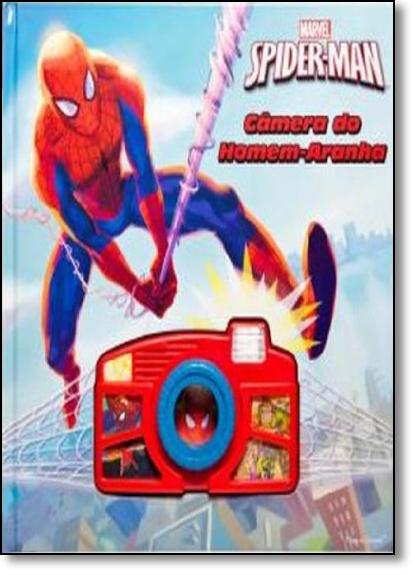 Spiderman: Câmera do Homem-aranha, livro de Marvel