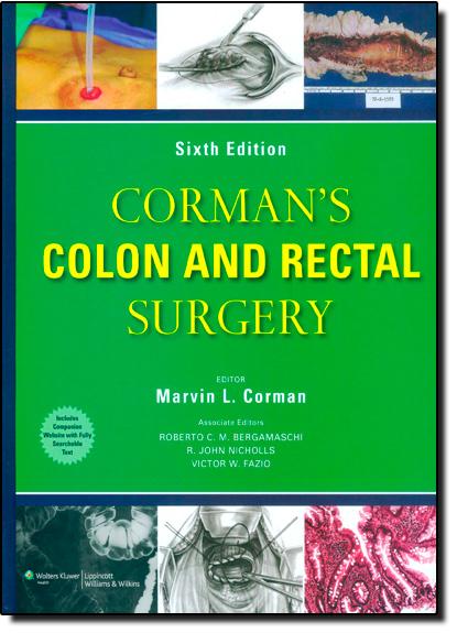 Cormans Colon and Rectal Surgery, livro de Marvin L. Corman