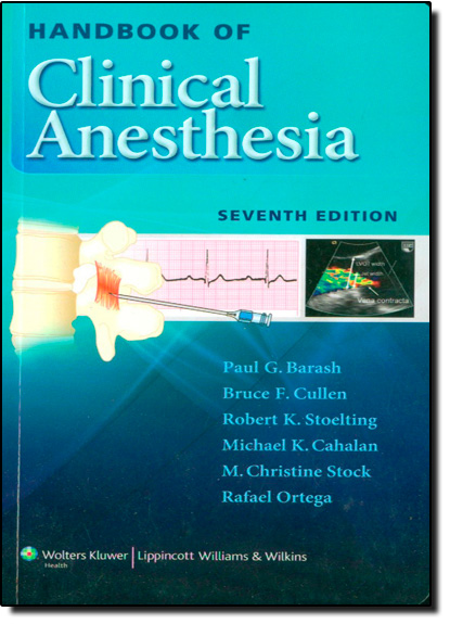 Handbook of Clinical Anesthesia, livro de Bruce F Cullen
