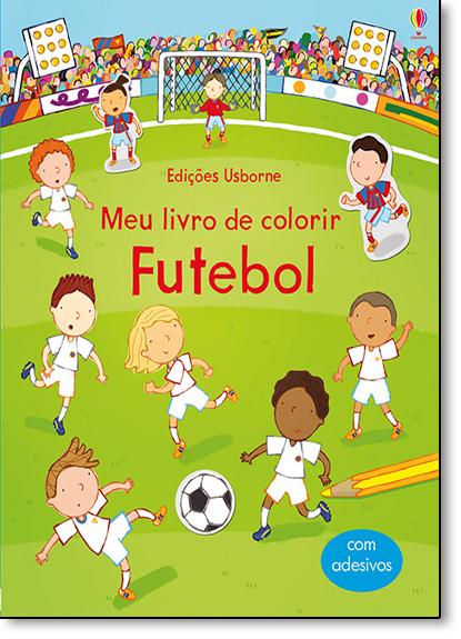 Futebol: Meu Livro de Colorir, livro de Sam Taplin
