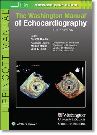 The Washington Manual of Echocardiography, livro de Majesh Makan