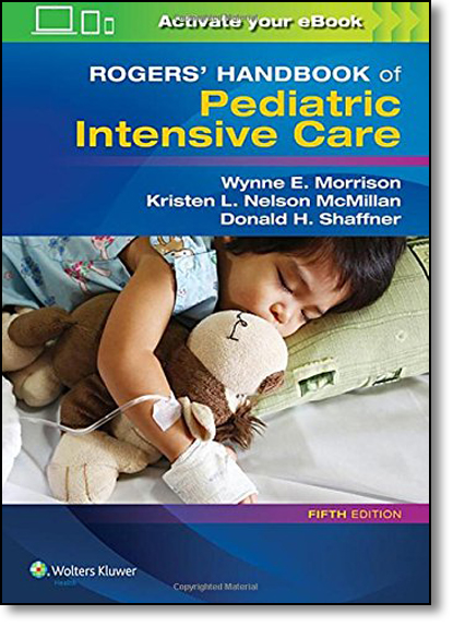 Rogers Handbook of Pediatric Intensive Care, livro de Donald H. Shaffner