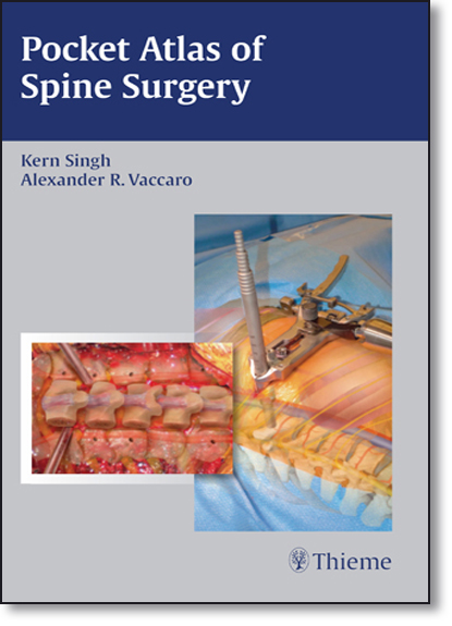 Pocket Atlas of Spine Surgery, livro de Kern Singh