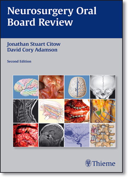 Neurosurgery Oral Board Review, livro de Jonathan Suart Citow