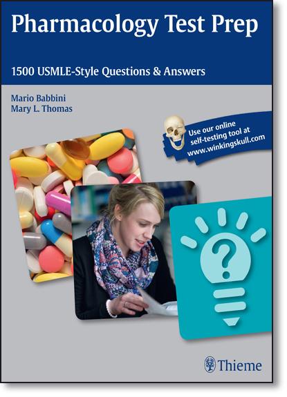 Pharmacology Test Prep: 1500 Usmle-style Questions & Answers, livro de Mario Babbini
