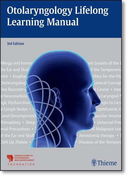 Otolaryngology Lifelong Learning Manual, livro de AAO-HNSF