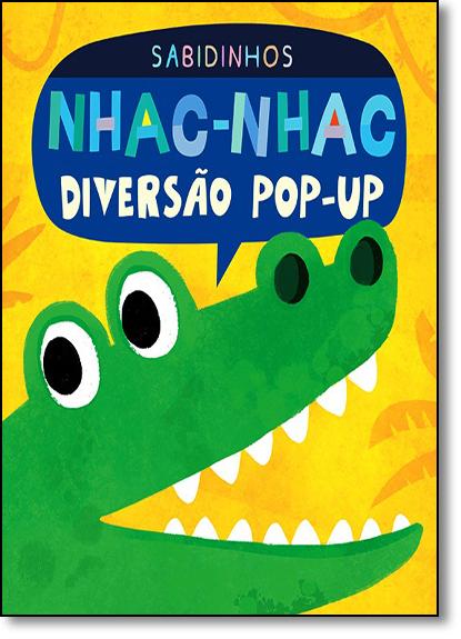 Nhac-nhac: Diversão Pop-up - Coleção Sabidinhos, livro de Little Tiger
