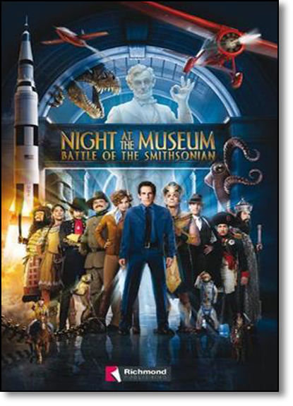 Night At the Museum: Battle of the Smithsonian, livro de Lynda Edwards