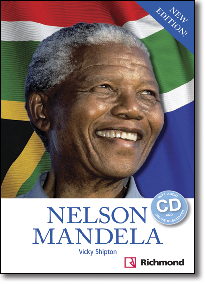 Nelson Mandela: With Audio Cd and Online Resources, livro de Vicky Shipton
