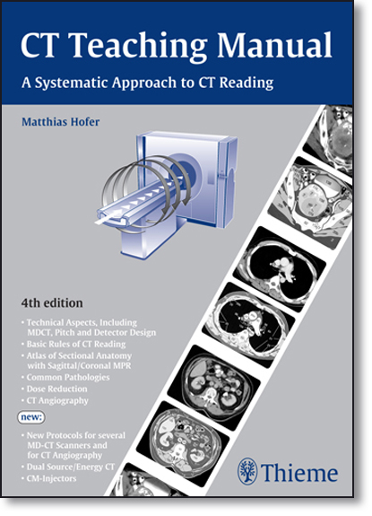 Ct Teaching Manual: A Systematic Approach to Ct Reading, livro de Matthias Hofer