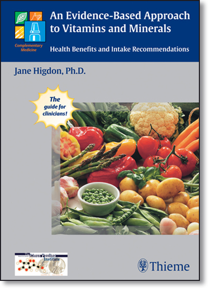 An Evidence-based Approach to Vitamins and Minerals, livro de Jane Higdon