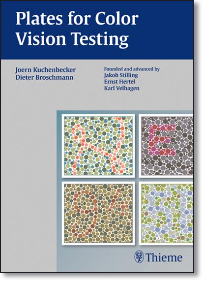 Plates for Color Vision Testing, livro de Joern Kuchenbecker