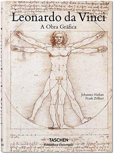 Leonardo da Vinci: A Obra Gráfica, livro de Frank Zollner, Nathan Jokannes