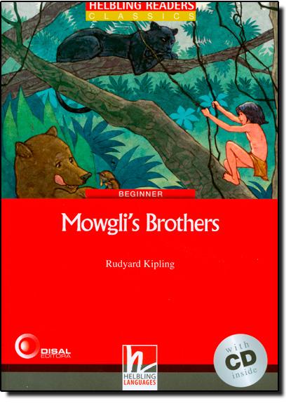 MOWGLI´S BROTHERS WITH CD - BEGINNER, livro de Rudyard Kipling
