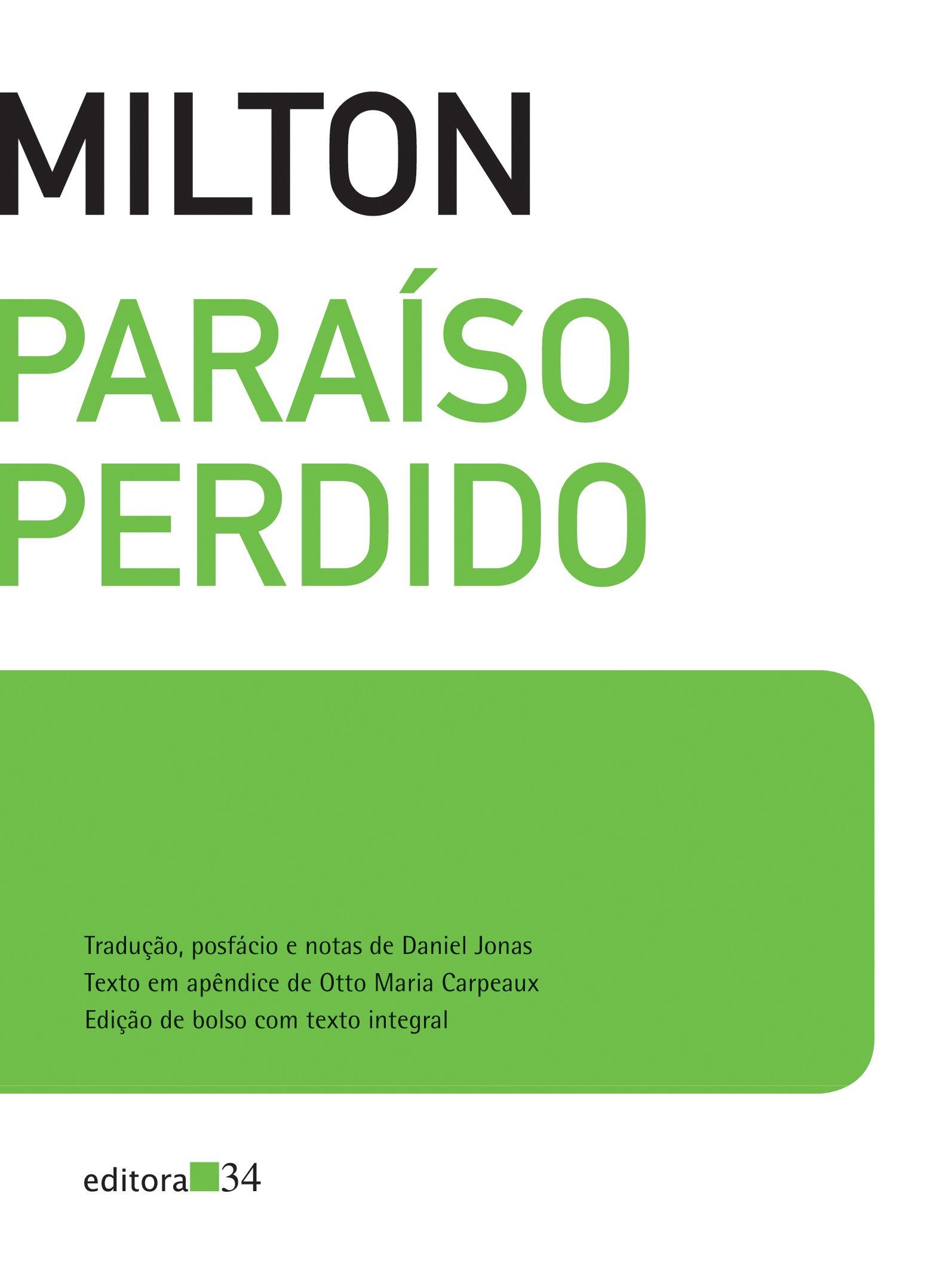 Paraíso perdido, livro de John Milton