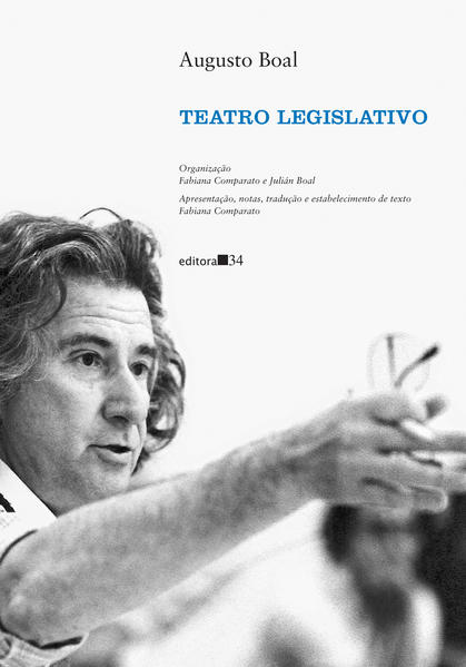 Teatro legislativo, livro de Augusto Boal, Fabiana Comparato, Julián Boal