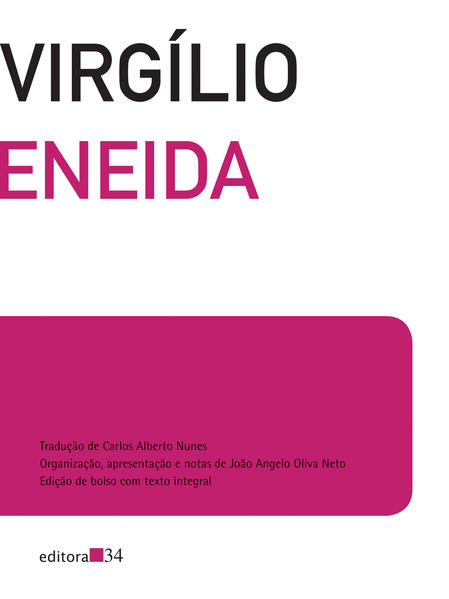 Eneida - edição de bolso com texto integral, livro de Virgílio