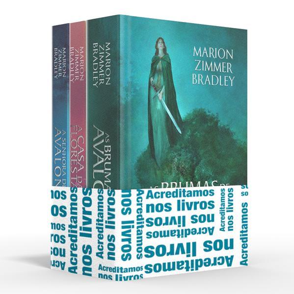 Coletânea As brumas de Avalon - Acreditamos nos livros. As brumas de Avalon / A casa da floresta / A senhora de Avalon, livro de Marion Zimmer Bradley