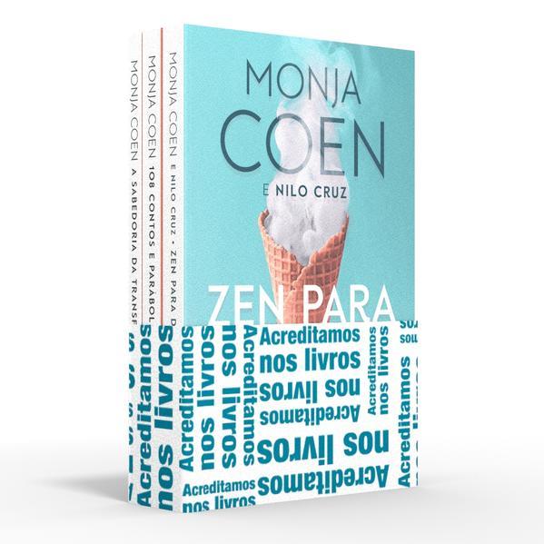 Coletânea Monja Coen - Acreditamos nos livros. Zen para distraídos / 108 contos e parábolas orientais / A sabedoria da transformação, livro de Monja Coen