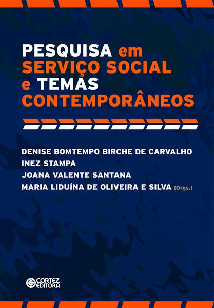 Pesquisa em Serviço Social e Temas Contemporâneos, livro de