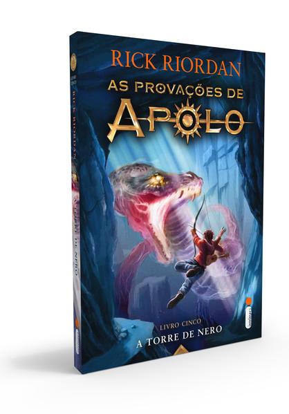 A Torre De Nero. Série As Provações De Apolo – Livro 5, livro de Rick Riordan