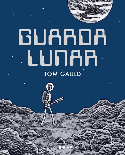 Guarda lunar, livro de Tom Gauld