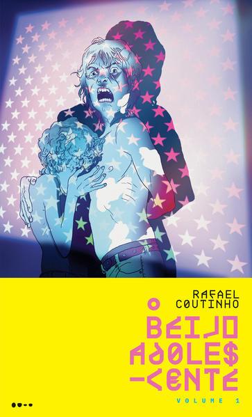 O beijo adolescente, livro de Rafael Coutinho