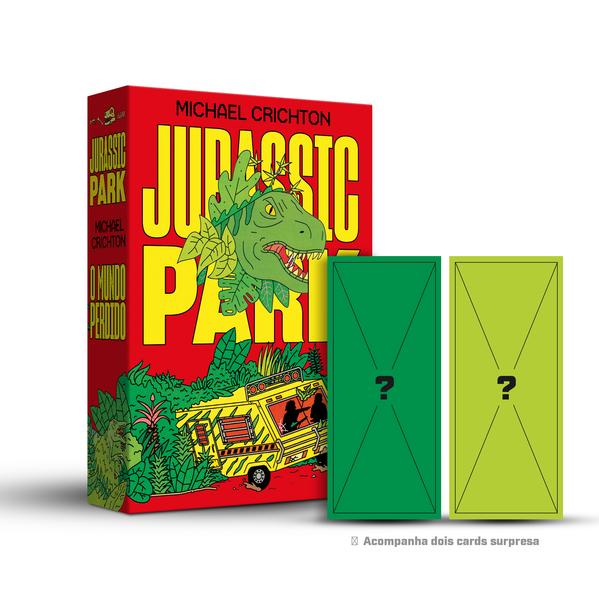 Box Jurassic Park, livro de Michael Crichton