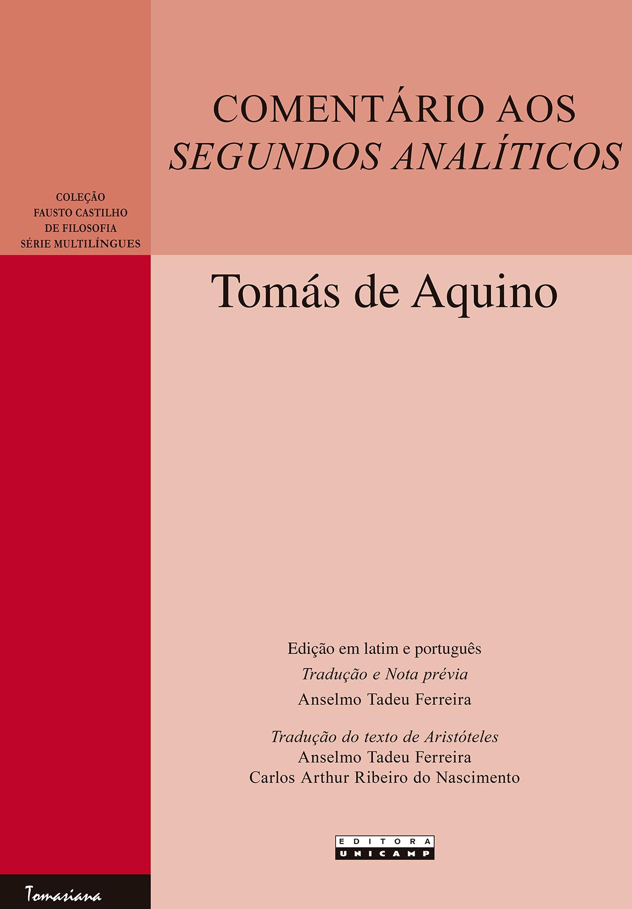 Comentário aos Segundos Analíticos, livro de Tomás de Aquino
